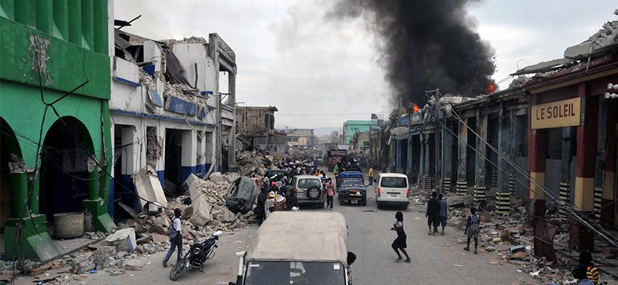 Haiti'de 5.9 büyüklüğünde deprem