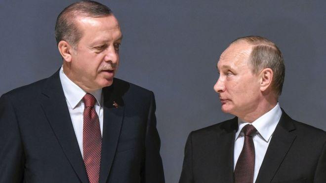"""Times: """"Putin ve Erdoğan'ın mantık evliliği"""""""