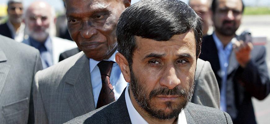 Ahmedinejad 'hükümeti protesto' için izin istedi