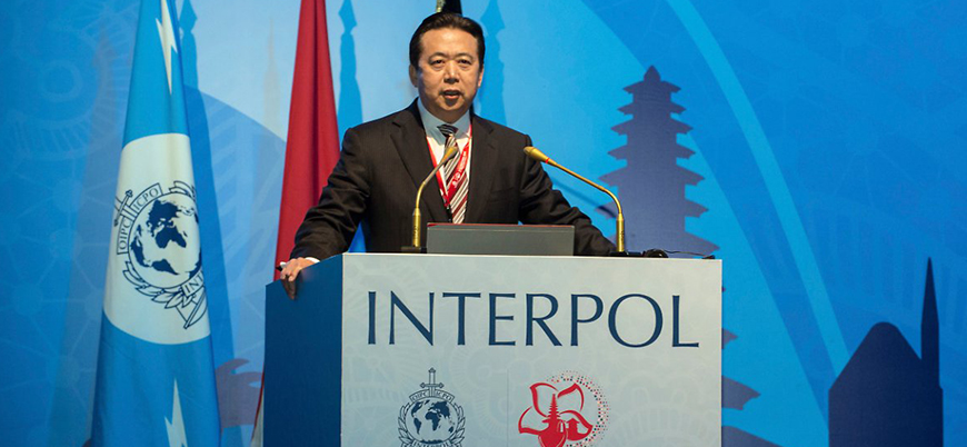 Çin'den kayıp Interpol başkanına dair açıklama