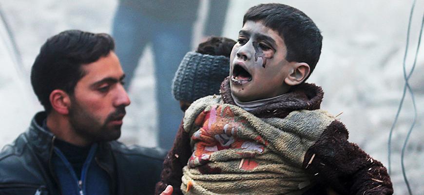SNHR: Suriye'deki savaşta 28 bin çocuk öldürüldü