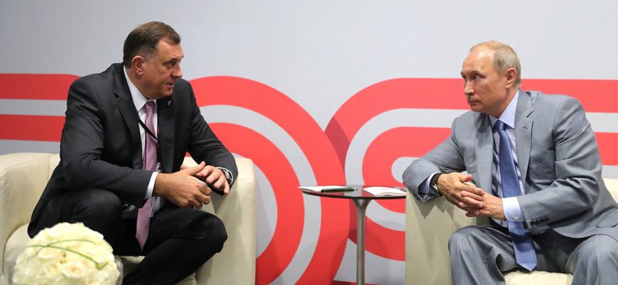 """""""Sırplar Bosna'dan ayrılsın"""" diyen aşırı sağcı Sırp lider başkanlık konseyinde"""