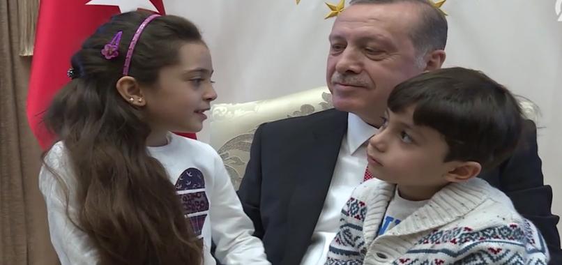 'Halep'in sesi' el-Abed, Cumhurbaşkanlığı Külliyesi'nde