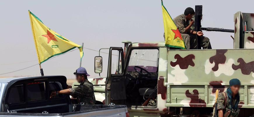 ABD'den YPG'ye Münbiç'te 'çukur kazma' yardımı