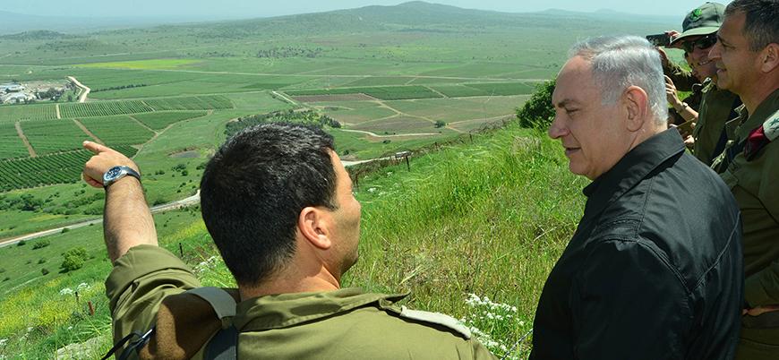 Netanyahu: Golan Tepeleri İsrail'in egemenliğinde kalacak