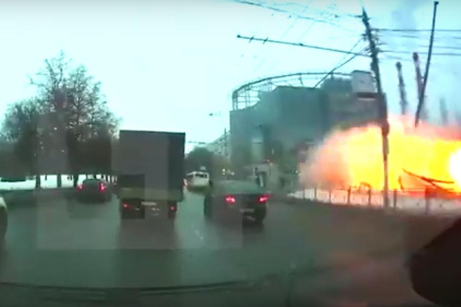 Moskova metrosunda patlama