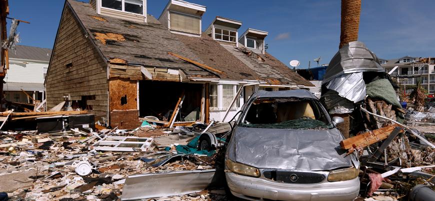 ABD tarihin en şiddetli 3. kasırgasında 16 kişi öldü