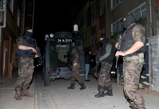 İstanbul'da IŞİD operasyonu: 31 şüpheli gözaltında