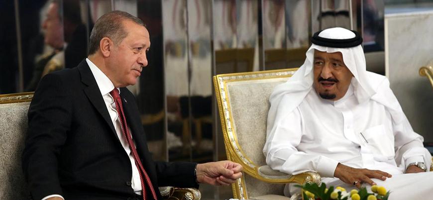 Erdoğan ve Kral Selman 'Kaşıkçı olayını' görüştü