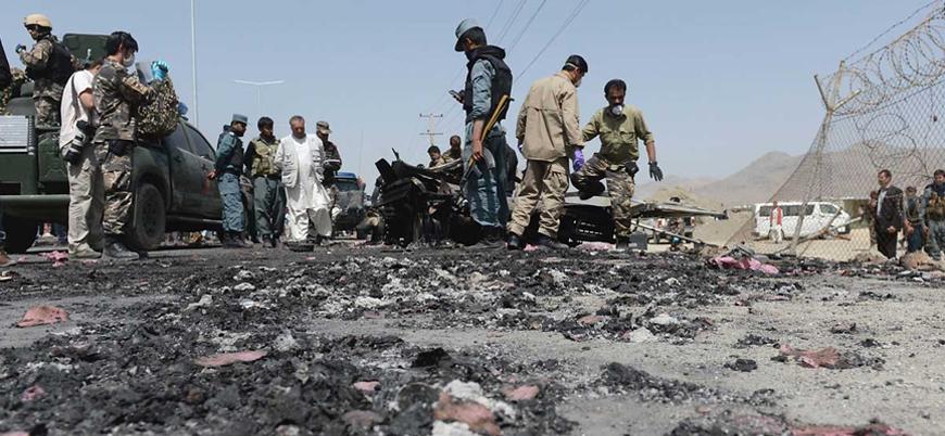 Taliban'dan Afganistan'da askeri üsse saldırı: 17 asker öldü