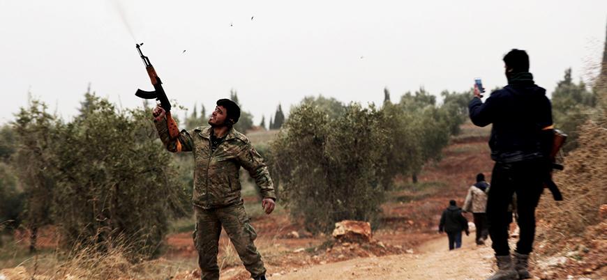 Afrin'de muhalif gruplar arasında çatışma