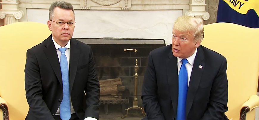 Brunson'ın ardından: Serbest kalmasaydı Trump bunu yapacaktı