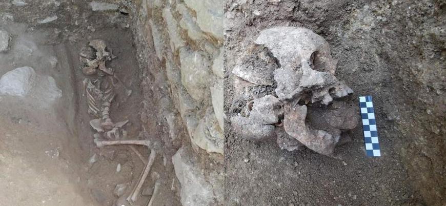 Bir Ortaçağ Avrupası ritüeli: Ağzına sokulan taşla gömülen 'vampir çocuk'
