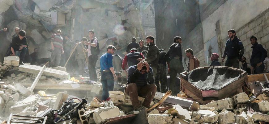İdlib'de son bir ayda 229 sivil hava saldırılarında yaşamını yitirdi