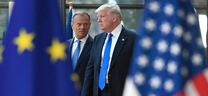 Trump: AB'yi korumak için NATO'nun masraflarını biz ödememeliyiz