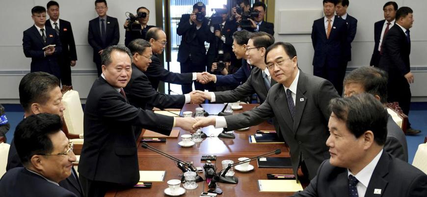 Güney Kore ile Kuzey Kore arasındaki 'barış' hız kazandı