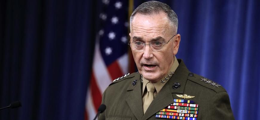 ABD Genelkurmay Başkanı'ndan 'Münbiç' açıklaması