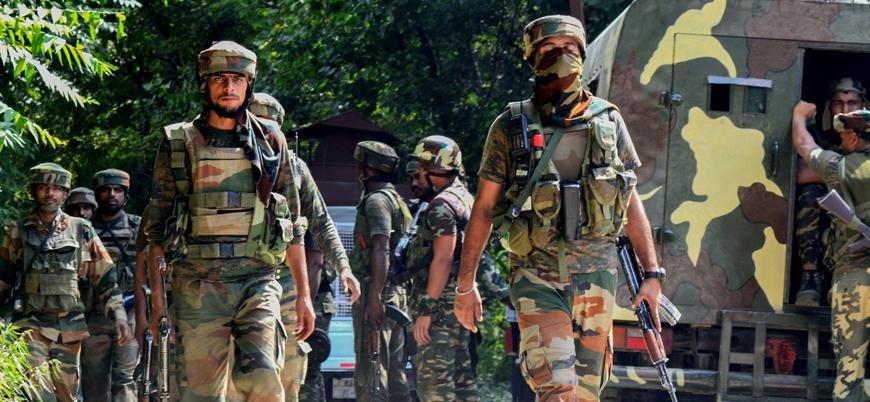 Hindistan Keşmir'e 125 bin milis güç sevk etti