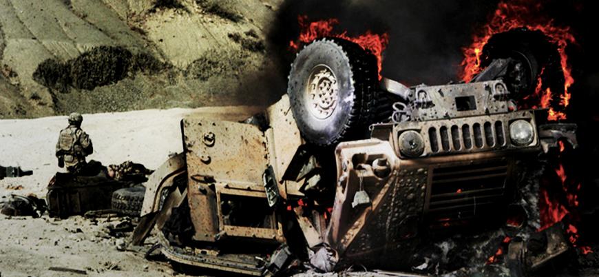 Afganistan'da NATO konvoyuna bombalı araç saldırısı