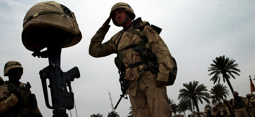 Irak'ta bir ABD askeri öldü