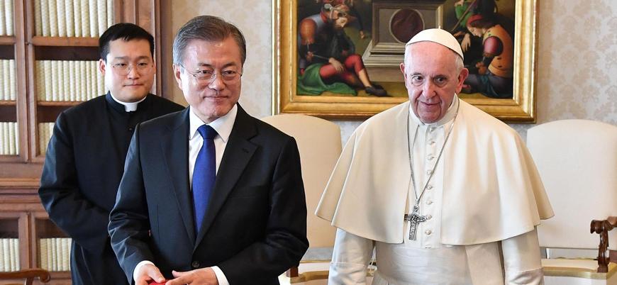 Papa Kuzey Kore liderinin davetini değerlendiriyor