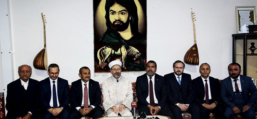 Diyanet İşleri Başkanı Ali Erbaş'tan Cemevi ziyareti