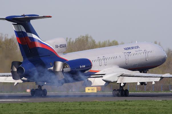 TU-154 kazalarında 800 kişi öldü