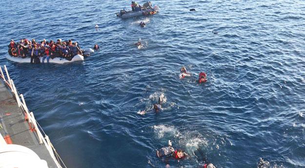 Akdeniz'de boğularak yaşamını yitirenlerin sayısı beş bini aştı.