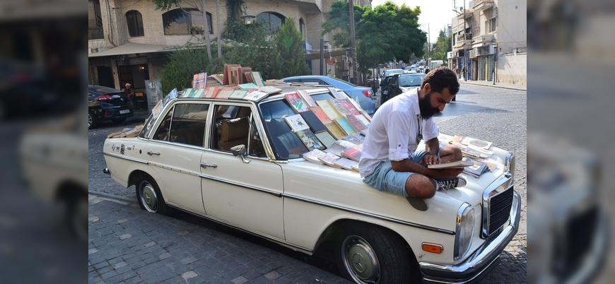 Ürdün'ün 'Mercedes'li kitapçısı'