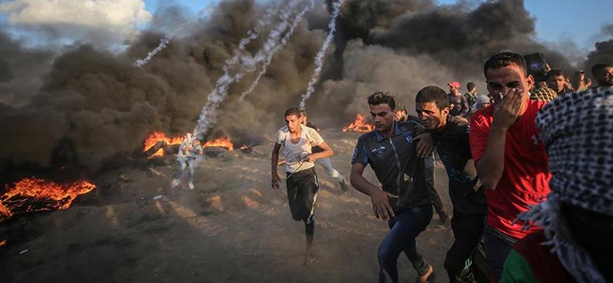 İsrail 130 Filistinliyi yaraladı
