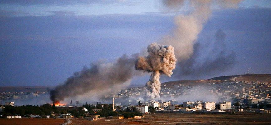 Uluslararası Koalisyon Suriye'de sivilleri vurdu