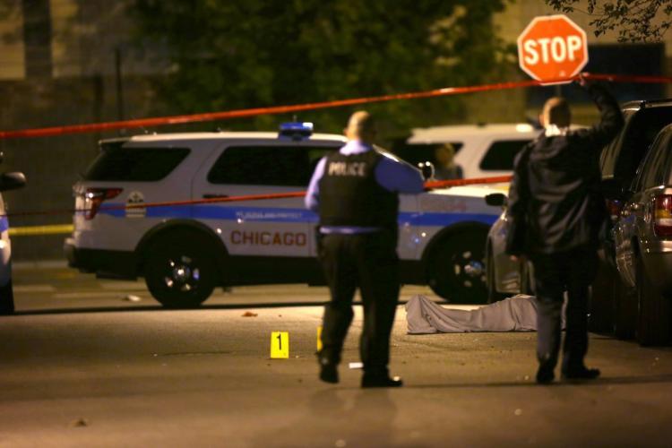 Suç başkenti Chicago'da cinayetler bitmiyor