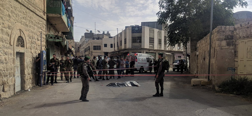 El Halil'de İsrail askerine bıçaklı saldırı