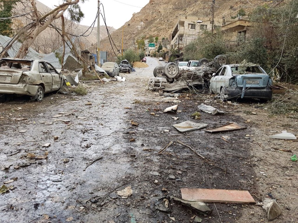 Suriye rejimi Şam'da saldırılarını arttırdı
