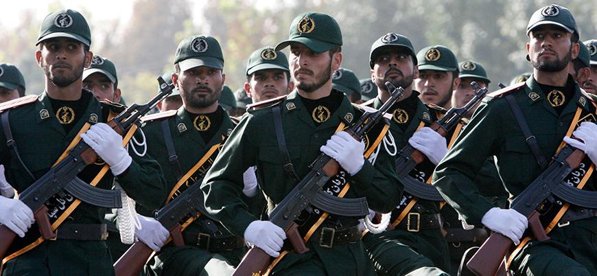 ABD İran Devrim Muhafızlarını 'terör listesine' aldı