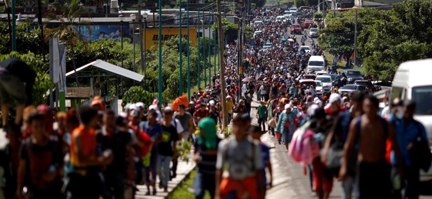 ABD'den Meksika sınırına asker sevkiyatı hazırlığı