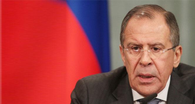 Lavrov'dan Suriye açıklaması