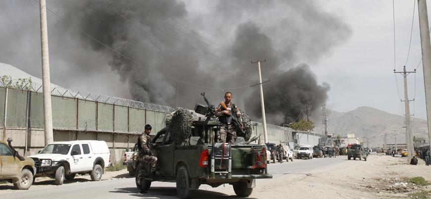 Taliban'dan başkent Kabil'de İçişleri Bakanlığı yetkililerine bombalı saldırı