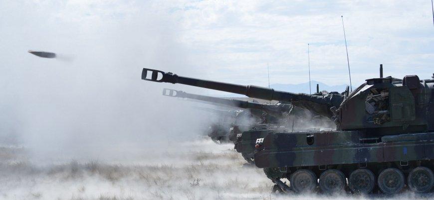 Türk Silahlı Kuvvetleri Fırat'ın doğusunu obüslerle vurdu