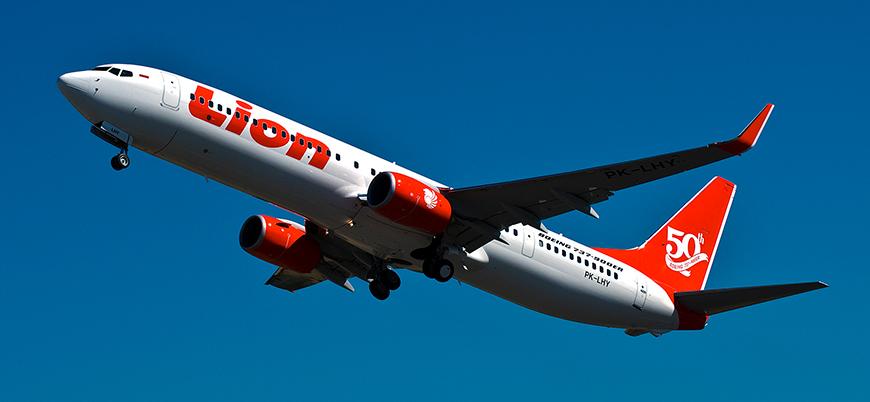 188 kişiyi taşıyan uçak Endonezya'da düştü