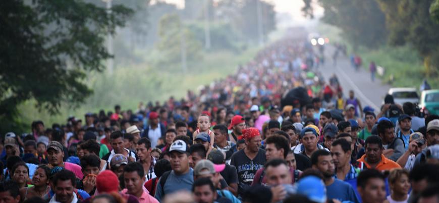 'İstenmeyen' göçmenler ABD'ye doğru yollarına devam ediyor
