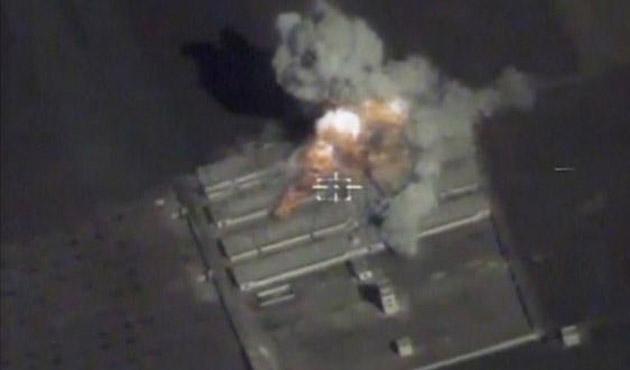 Rus jetlerinden bir ilk: El Bab'da IŞİD'i vurdular