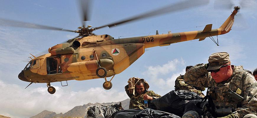 Afganistan'ın batısında helikopter düşürüldü: 25 ölü