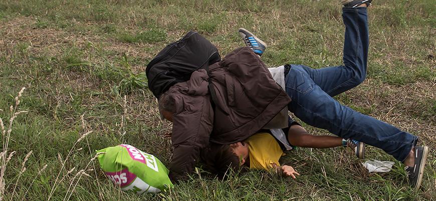 Macaristan'da sığınmacılara çelme takan gazeteci beraat etti