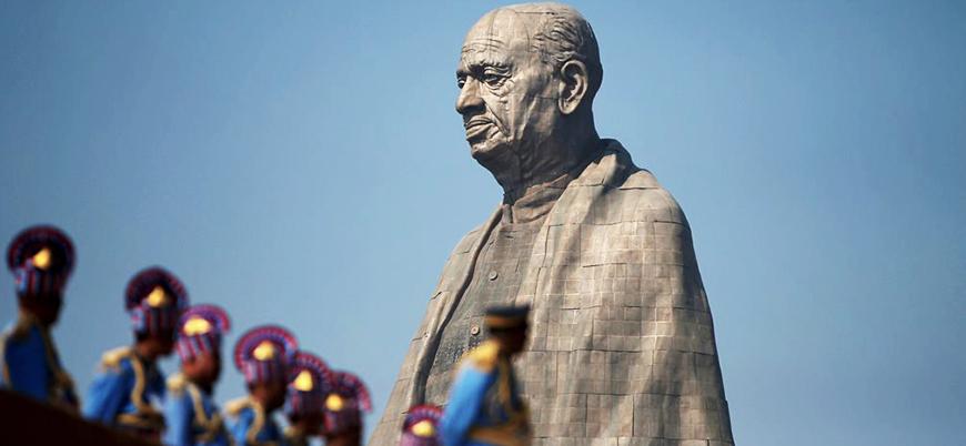 Dünyanın en uzun heykeli Hindistan'da açıldı