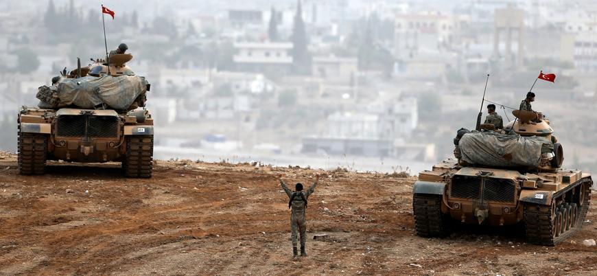 YPG/PKK'dan Suriye sınırında askeri araca tanksavar füzeli saldırı girişimi