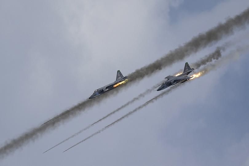 Rusya'dan Fırat Kalkanı'na hava desteği