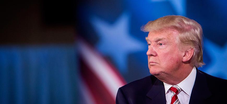 Trump: Biz sadece Tanrı önünde diz çökeriz