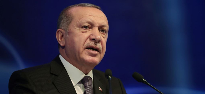 Erdoğan: ABD'nin silah yardımı YPG'ye, PKK'ya geliyor