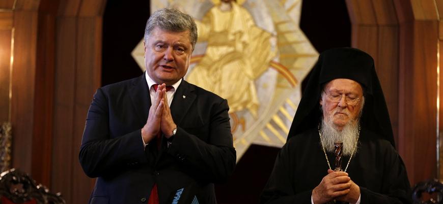 Ukrayna ile Rus Ortodoks Kiliseleri resmen ayrıldı